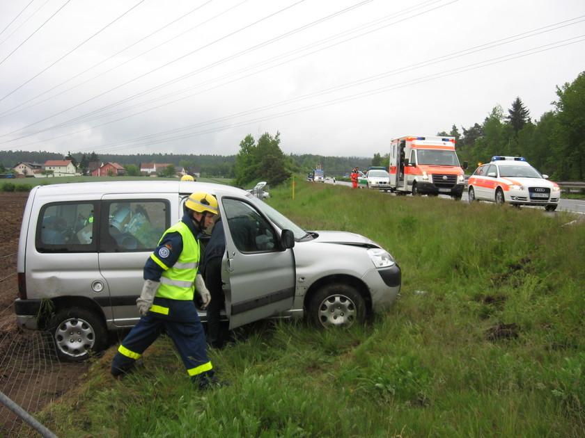 Unfall A93 Schwandorf